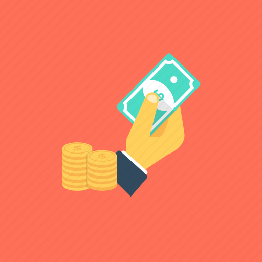banknotes, finance, money, payment, savings icon
