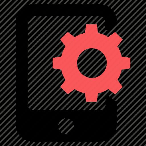 configuration, gear, mobile marketing, option icon icon