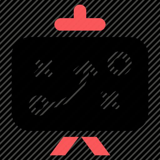business goal, optimization, seo strategy icon icon