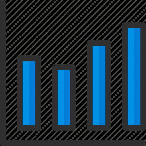 chart, graph, marketing, seo, statistics, stats icon