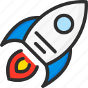 marketing, rocket, seo, startup icon