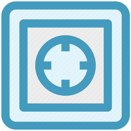 bank, combination, money, safe, secure, seo, vault icon