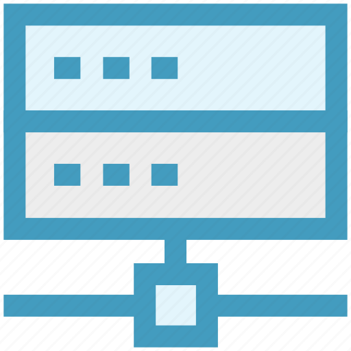 database, hosting, network, routers, seo, storage icon