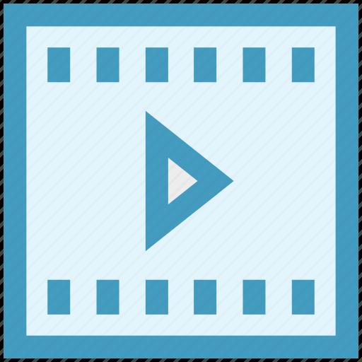 cinema, film, media, movie, movies, play, video icon
