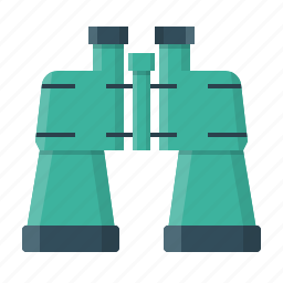 binoculars, find, look, research, search, view, zoom icon