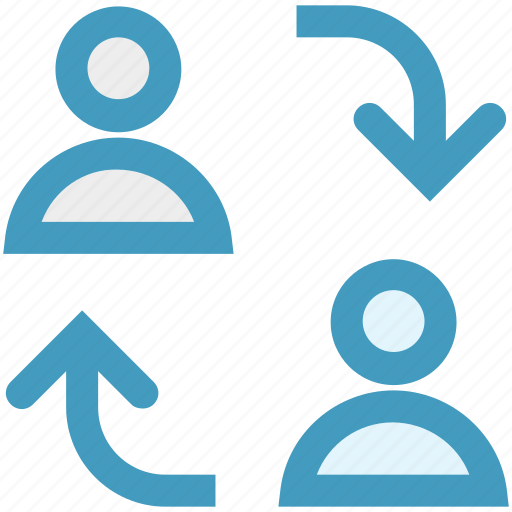 chatting, communication, group, online chatting, people, relations, users icon