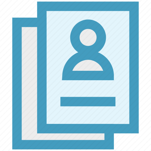 account, documents, pages, papers, profile, seo, user icon