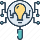 comprehension, intellect, intelligence, intelligence search, search icon