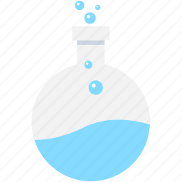 conical flask, flask, lab equipment, lab flask, volumetric flask icon