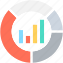 bar chart, diagram, graph, seo graph, statistics icon