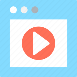 live streaming, media player, multimedia, music player, video player icon