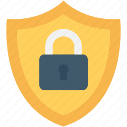 encryption, firewall, lock, safe, shield icon