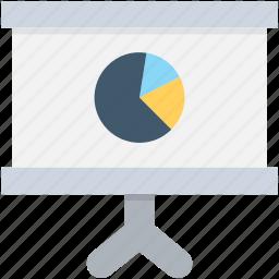 analysis, graph presentation, pie chart, pie graph, seo graph icon