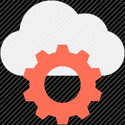 cloud computing, cloud maintenance, cloud settings, icloud, repair icon