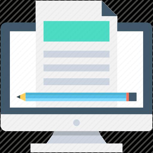article writing, composing, edit, handwriting, writing icon