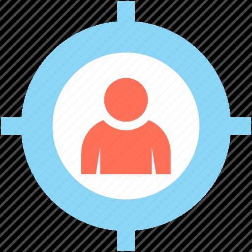 customer target, focus, marketing, seo, target user icon