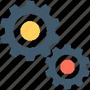 cog, cogwheel, gear, gear wheel, settings