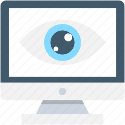 monitor, screen, seo, view, visibility icon