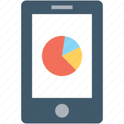 infographic, online graph, pie graph, seo graph, seo report icon