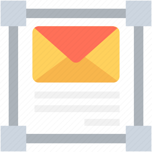 email, envelop, letter, selection, selection square icon