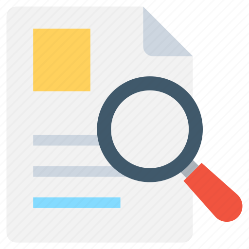 cv, find employee, job application, magnifying, search resume icon