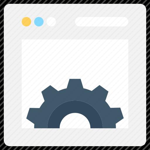 cogwheel, preferences, settings, web development, web settings icon