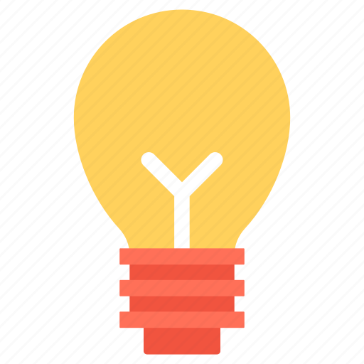 bulb, idea, innovation, invention, lightbulb icon