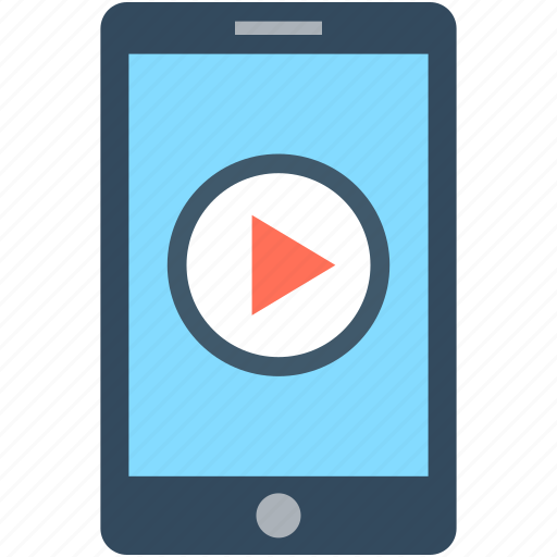 media player, mobile media, mobile video, music player, video player icon