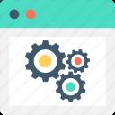 cogwheel, preferences, settings, web development, web settings