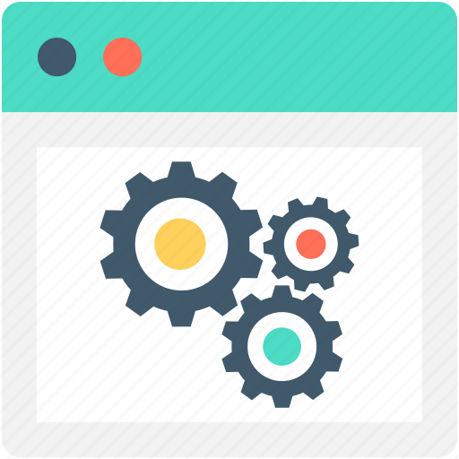 cogwheel, preferences, settings, web development, web settings icon