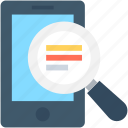 find, magnifying, mobile scanning, mobile search, search