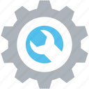 cog, cogwheel, optimization, settings, wrench icon