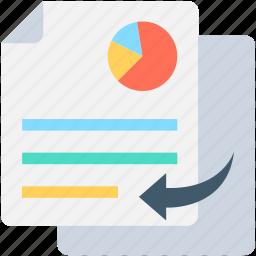 copy graph, copy report, graph report, pie chart, seo graph icon