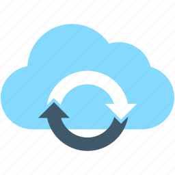 cloud loading, cloud refresh, cloud sync, cloud update, sync icon