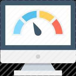 monitor, speed test, web analyzer, web speed, website speed icon