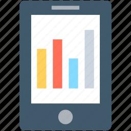 infographic, mobile, mobile graph, online graph, seo graph icon