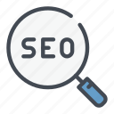 find, loupe, magnifier, marketing, search, seo