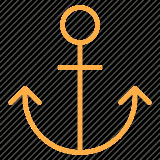 anchor, marketing, online, seo icon