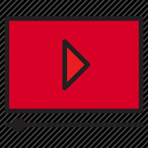 maketing, marketing, online, seo, video icon