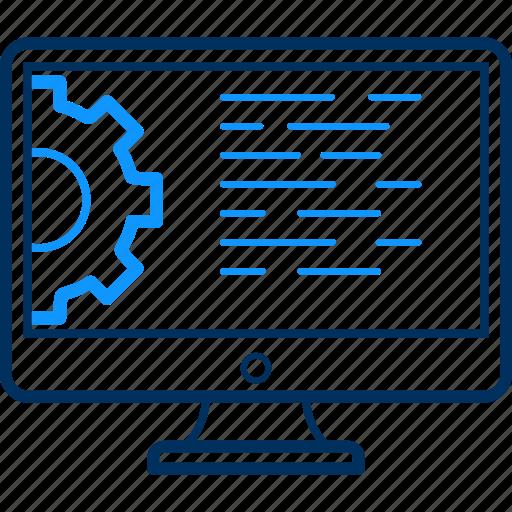 language, laptop icon