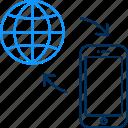 internet, mobile, web