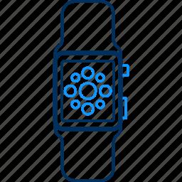 smartwatch, technology icon
