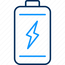 battery, low, mobile, technology icon