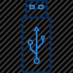 pd, pen drive icon