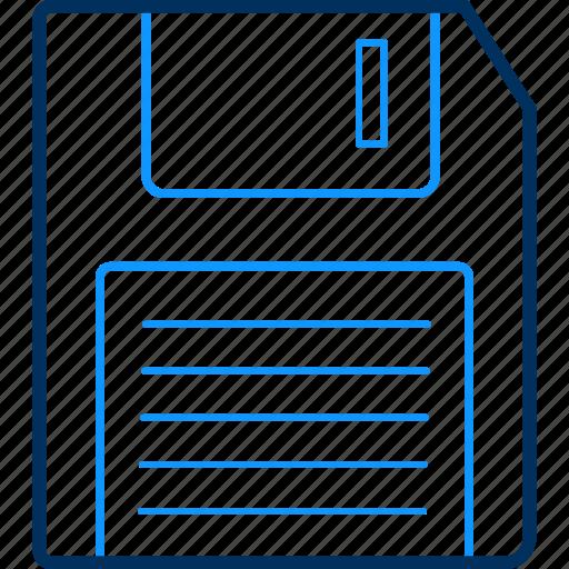 data, disc, drive, floppy, storage icon