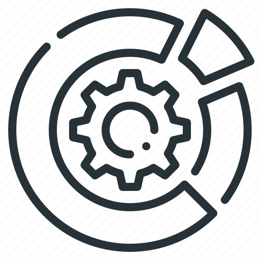 data, data management, diagram, management icon