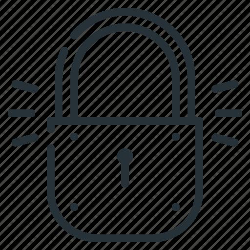 lock, locked, security, website icon