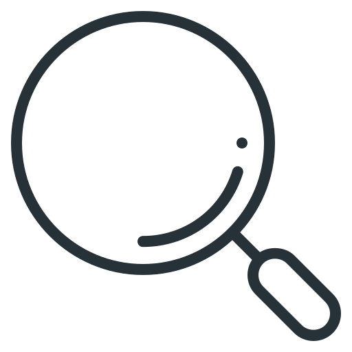 glass, loupe, magnifier, magnifying, magnifying glass, search, seo icon