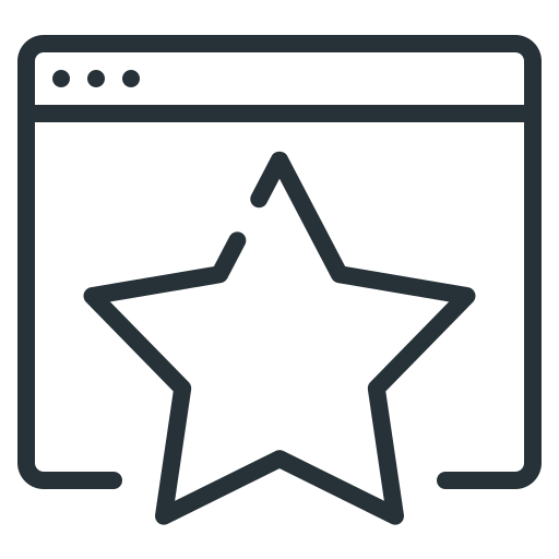 favorite, favorite site, site, star, website icon