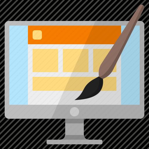 build a website, design a website, make a website, make website, web design, website design, website designer icon